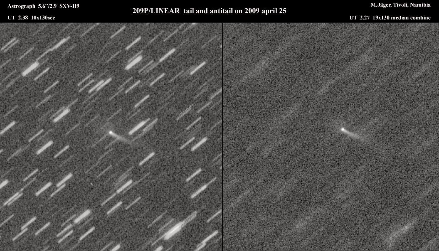 Sao chổi 209P/LINEAR sẽ tạo nên một trận mưa sao băng lớn trong năm 2014? - 2 / Thiên văn học Đà Nẵng
