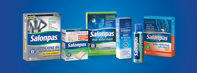 Enter the Santa's Salonpas Stocking Filled with Pain Relief Giveaway. Ends 11/30