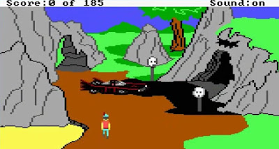 Huevo de Pascua King's Quest II - Batmobile