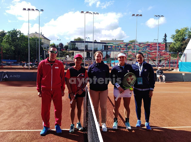 Junior Fed Cup World Group 2018: Indonesia Libas Argentina
