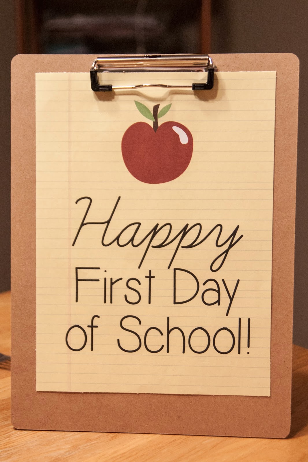 First Day Of College Picture: Emily's Photo Blog: Audrey's First Day Of Kindergarten