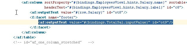 ADF - Groovy for Total Sum of a Column in a Table | Techartifact