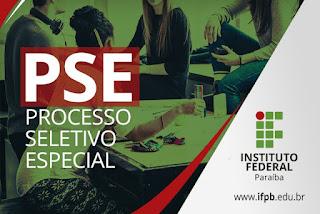 IFPB: PSE divulga resultado preliminar