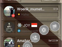 BBM MOD Manual Ala WM Apk Full DP Transparant Based Version 3.2.0.6 Terbaru