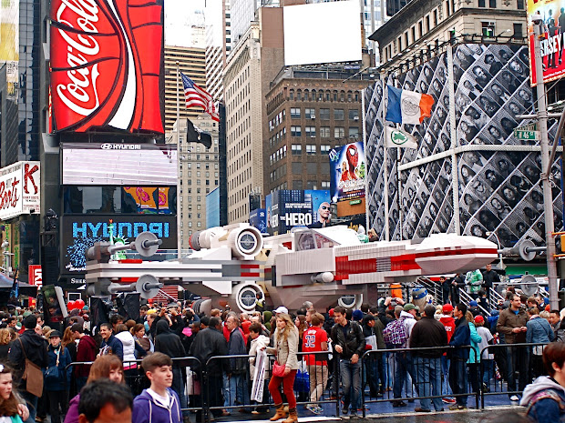 Nyc World' Largest Lego Model Star Wars' X-wing