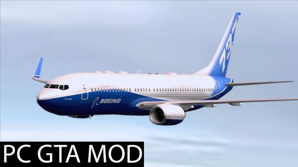 Free Download Boeing 737-800 Livery Pack  Mod for GTA San Andreas.