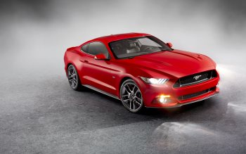 Wallpaper: Ford Mustang 2015