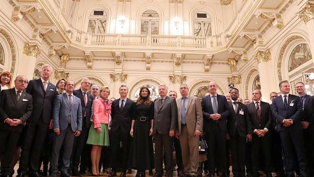 Macri invitó a empresarios belgas a invertir en la Argentina