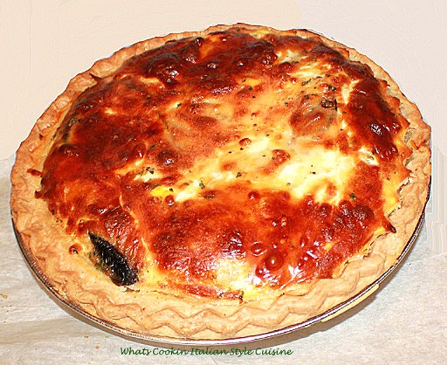 This is a deep dish cousin to quiche. It has a rich buttery crust with with deli meats and cheese. This is normally served around Easter right at the end of Lent