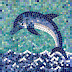 Dolphin Tile Vismat Texture For Vray
