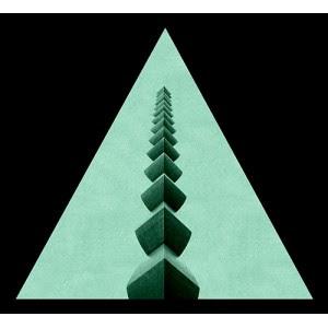 Tablou Fosforescent Triunghi Coloana Infinitului Conform Unor Masuratori Radiestezice, Coloana Infinitului Emite Pe O Raza De 300 M