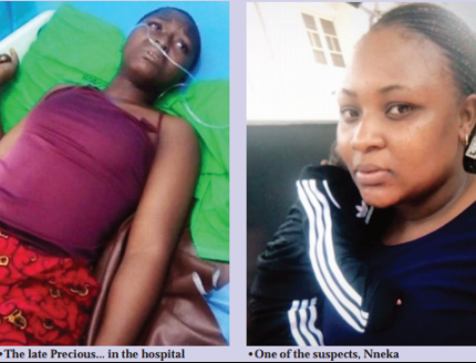 Young lady passes on after being beaten by Half senior sister for bed-wetting