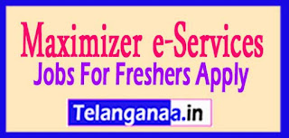 Maximizer e-Services Pvt. Ltd Recruitment 2017 Jobs For Freshers Apply