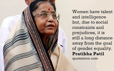 Pratibha Patil Quotes - First Woman President of India