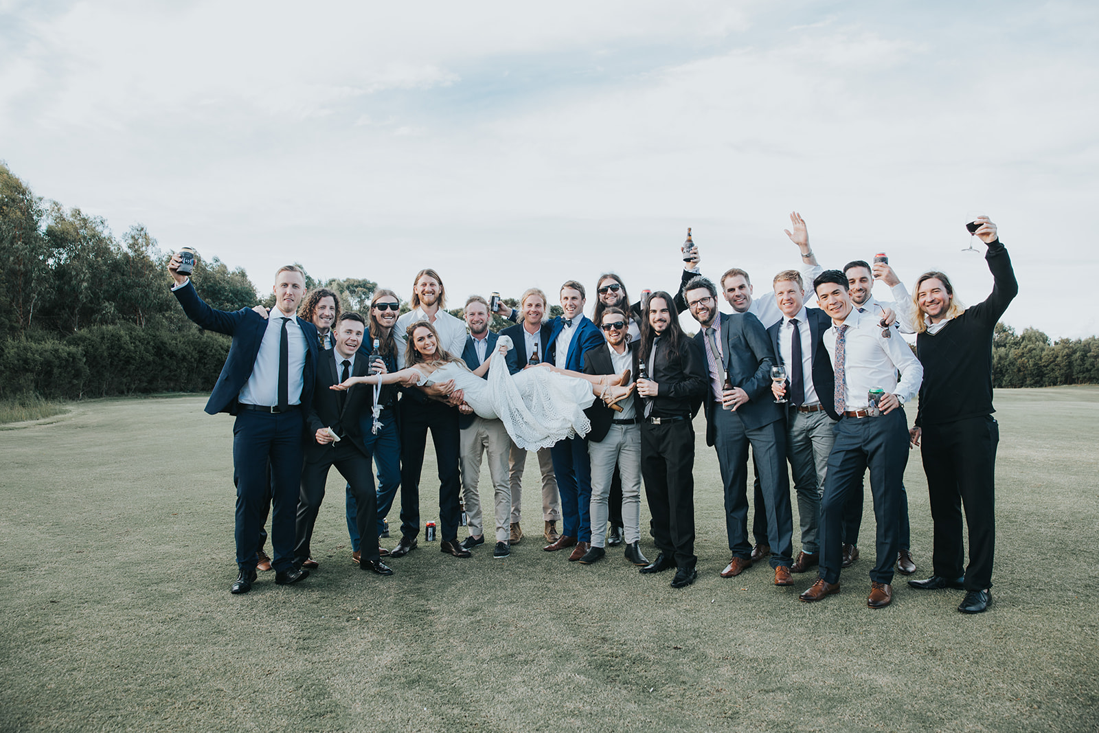 JENNA AND LUKE DEVILS DAM WEDDING MELBOURNE WEDDING VENUES