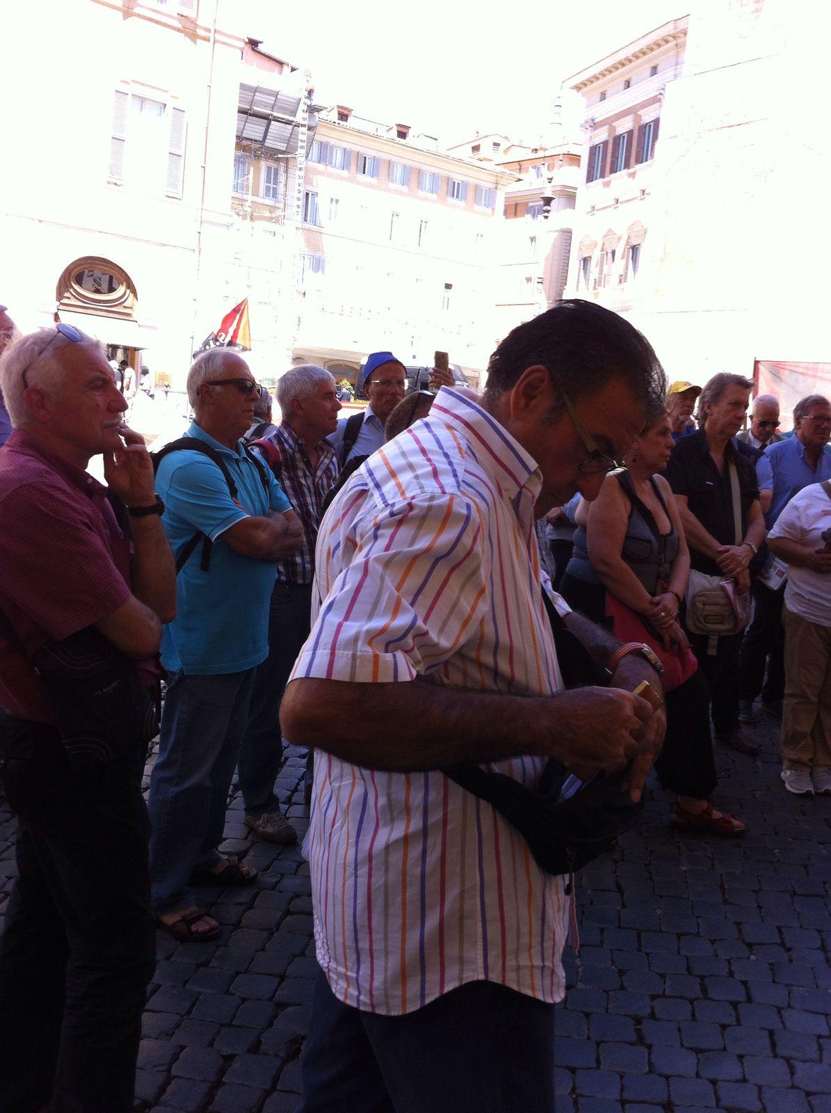 Adl varese la manifestazione del 6 luglio davanti al for Oggi al parlamento