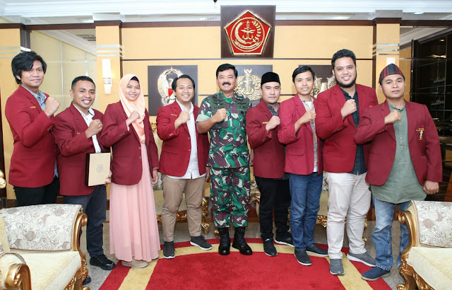 Panglima TNI Terima Kunjungan Ikatan Mahasiswa Muhammadiyah