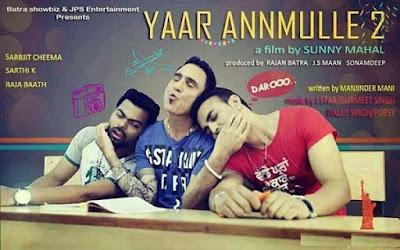 Yaar Anmulle 2 2016 Punjabi pDVDRip 700mb