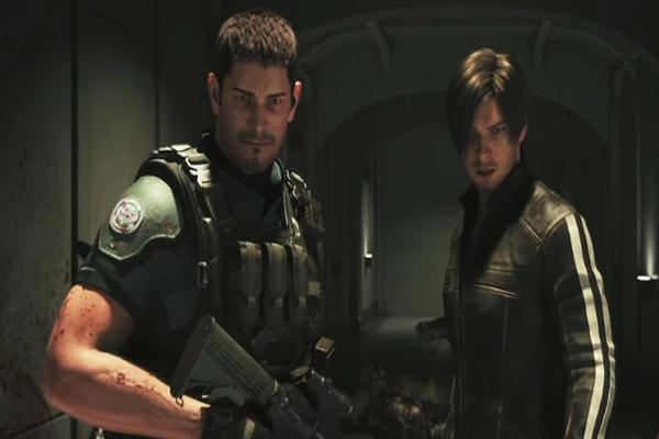 Chris dan Leon di Resident Evil: Vendetta