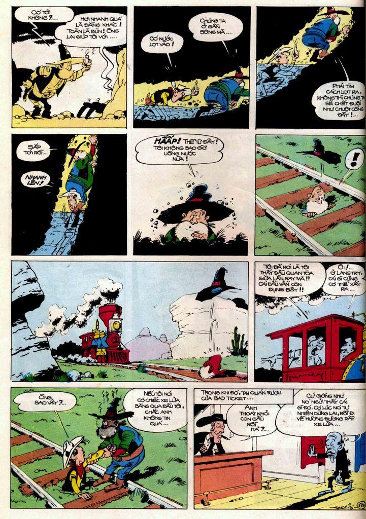 Lucky Luke tập 21 - sợi dây biết hát trang 29