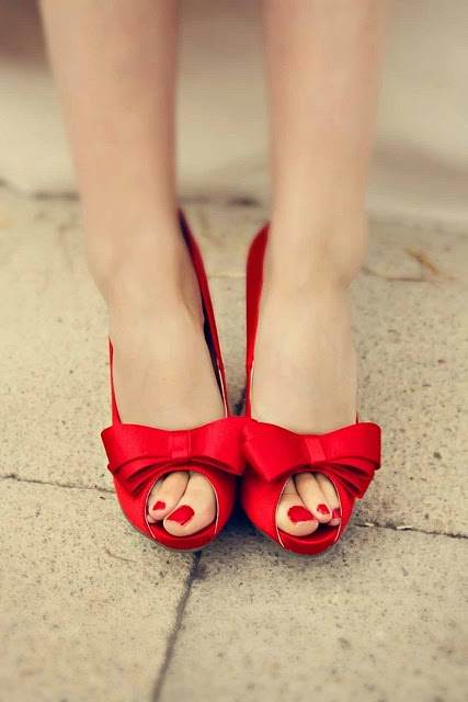Red Wedding Shoes For the Wedding