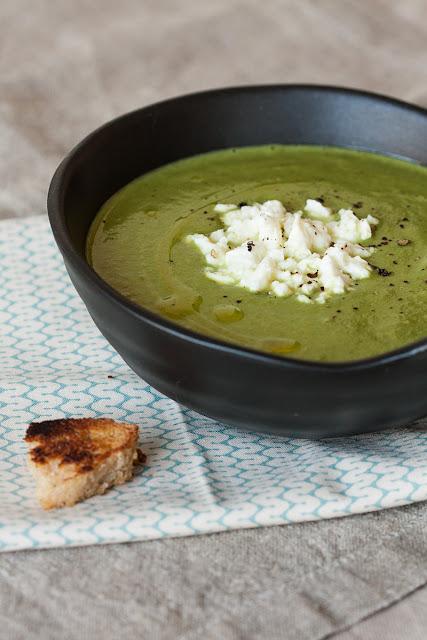 Krem supa sa brokolijem, spanaćem i kejlom