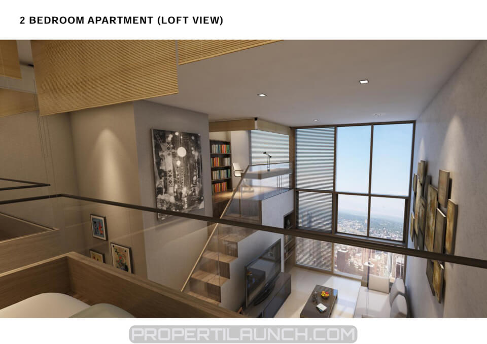 2 BR Loft Type Apartment Cambio Lofts
