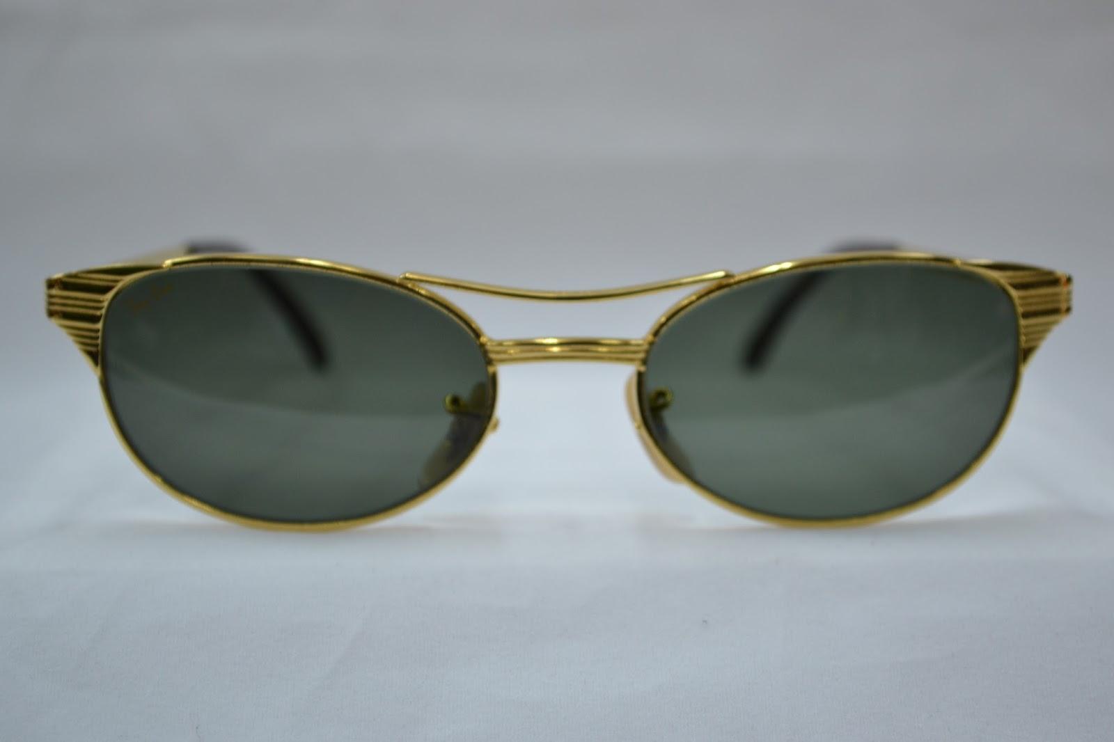 7aa227956a9 Vintage sunglass  Vintage Ray Ban USA oval SIGNET sunglass NOS