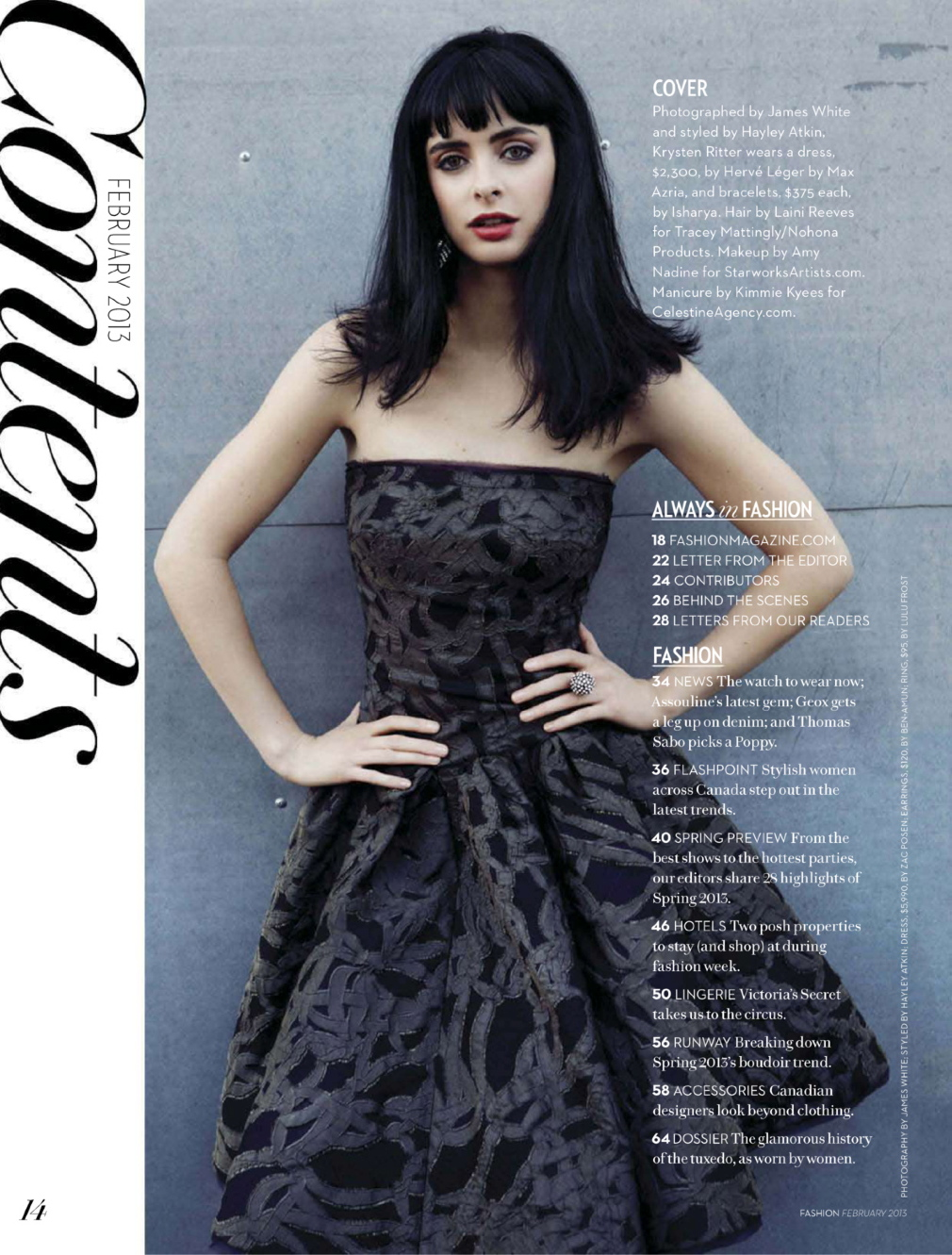 Gloss over This: Krysten Ritter in Fashion