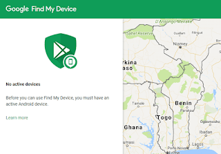 find my phone location using android device manager