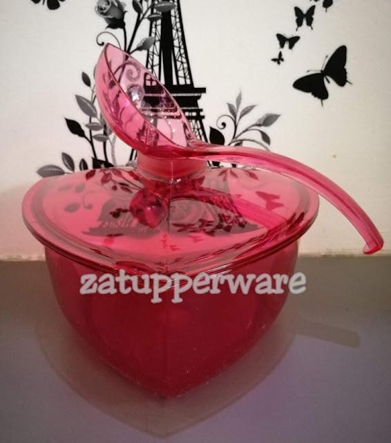 Tupperware Roza Triangle Bowl (1)