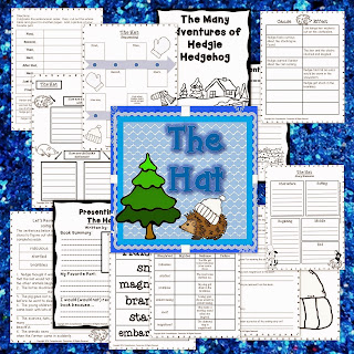 The Hat is perfect for the perfect book for guided reading or as a mentor text. Check out this post for details of what's included in this unit bundle