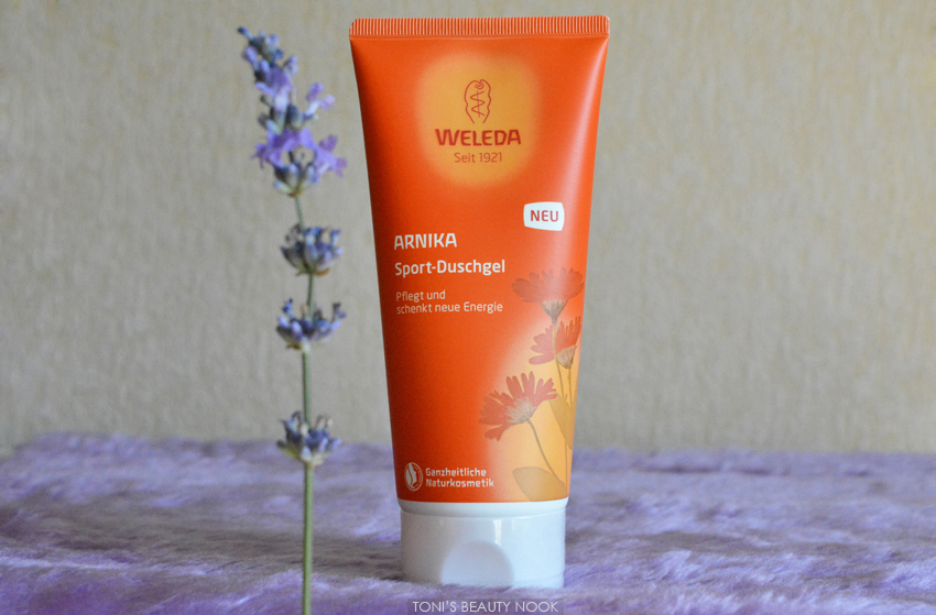 weleda arnica shower gel
