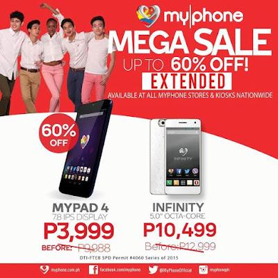MyPhone Mega Nationwide Sale