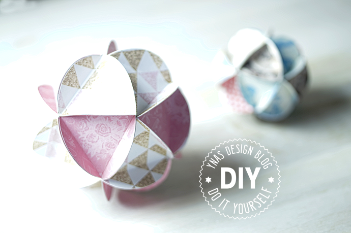DIY Dekokugeln aus Papier