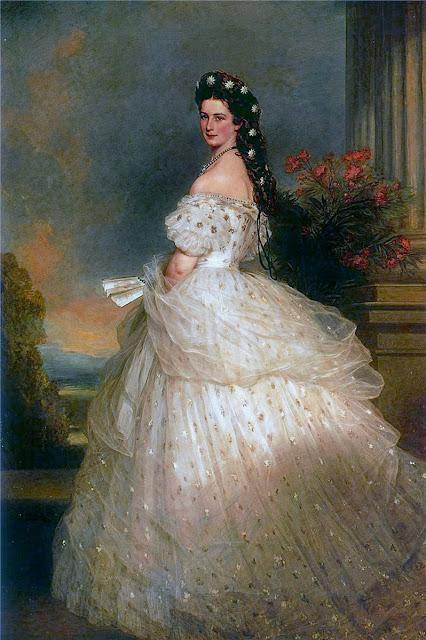 La emperatriz Isabel, Francisco Javier Winterhalter