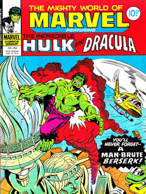 Mighty World of Marvel #254, Incredible Hulk, statue of liberty