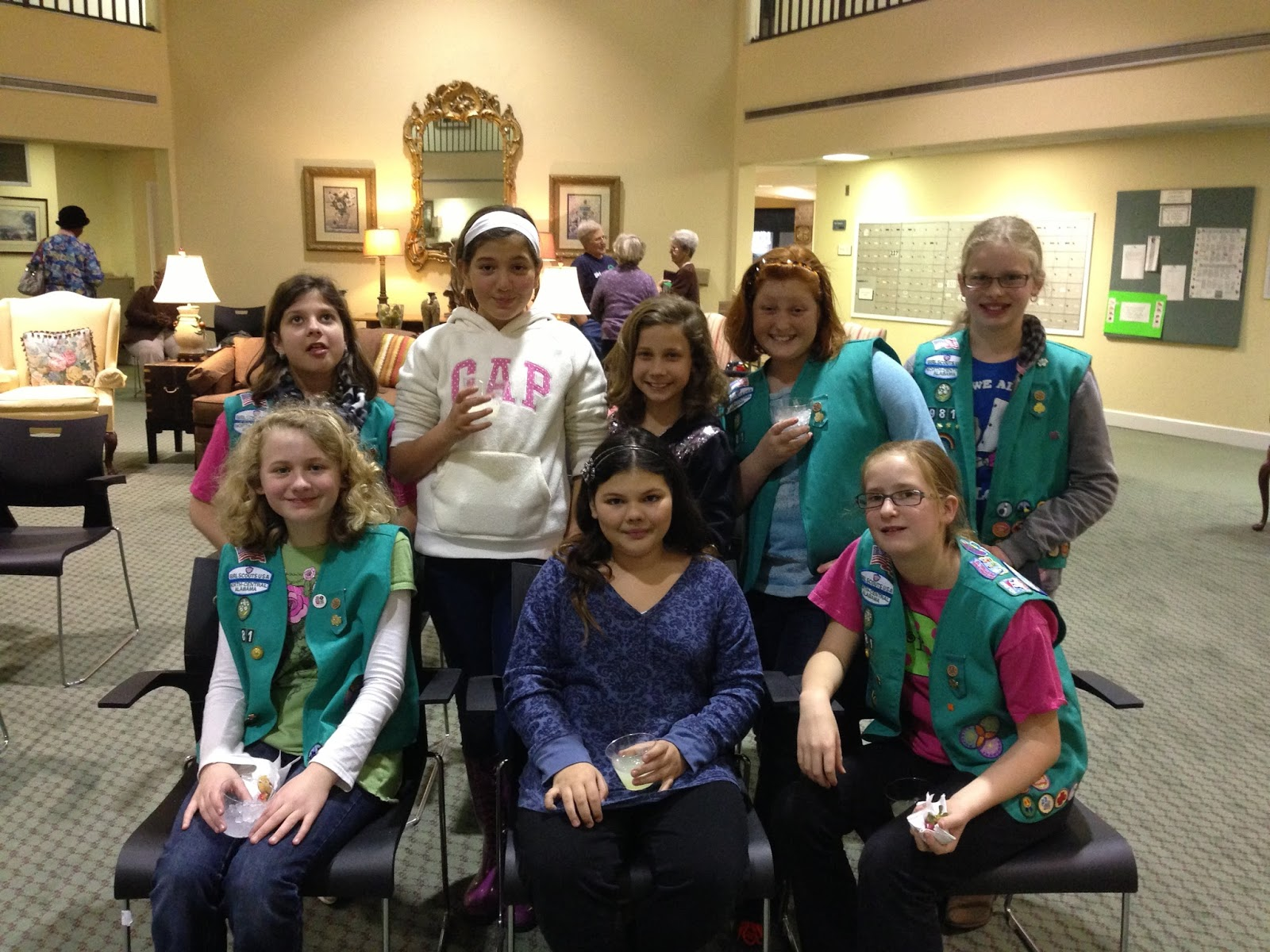 Girl Scouts Of North-Central Alabama Troop 30981 Earns -8891