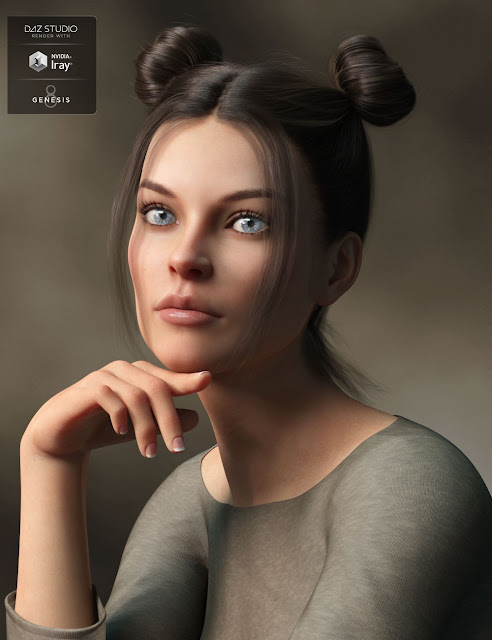 Harper HD for Genesis 8 Female