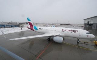 Eurowings, nuovi voli su Catania e Olbia