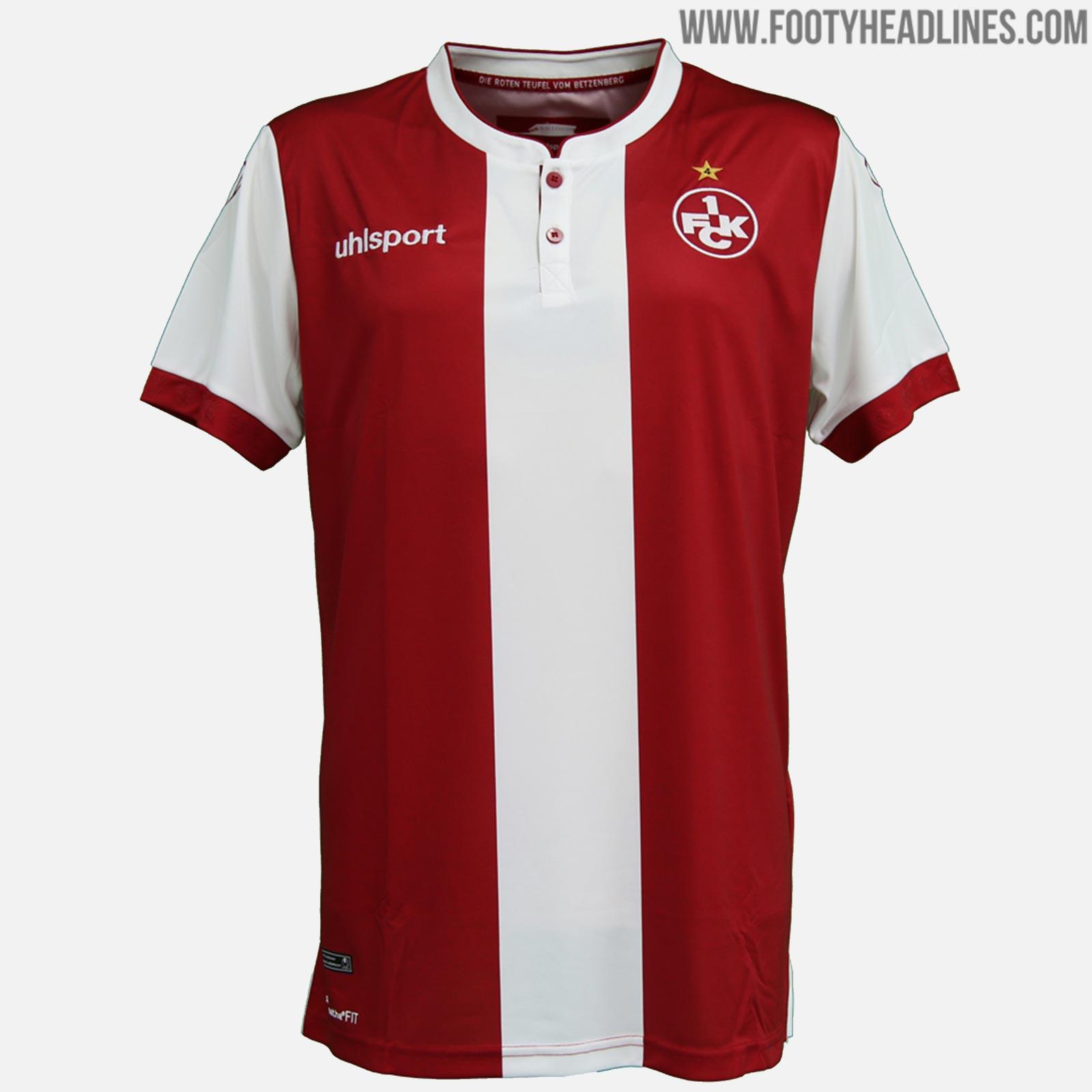 47e76053428 1. FC Kaiserslautern 18-19 Home   Away Kits Released