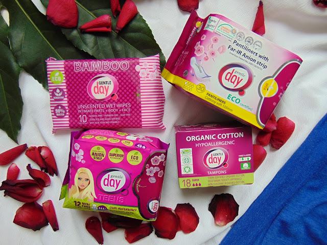 Zdrowie intymne w naszych rękach - Produkty Gentle Day