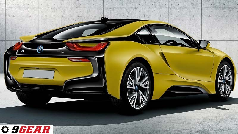 World Premiere The Bmw I8 Protonic Frozen Yellow Special Edition