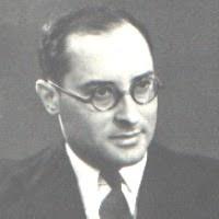 Jean Zay, Ministre de l'Education Nationale du Front Populaire en 1936, assassiné par la milice française le 20 juin 1944 (collection privée)