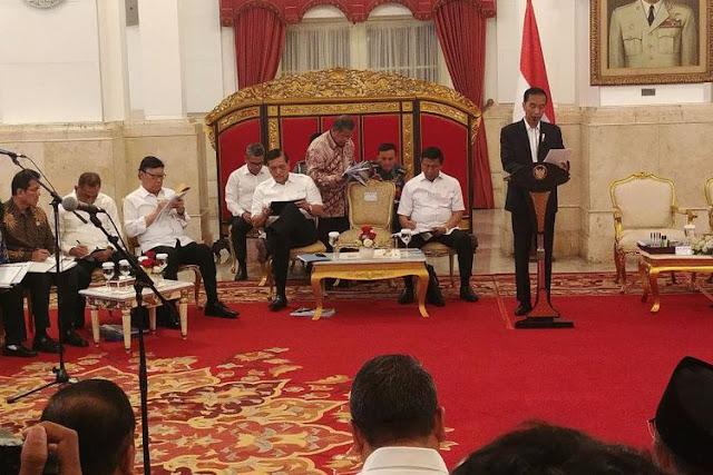 Idrus Marham dan Moeldoko Masuk Kabinet Baru Jokowi