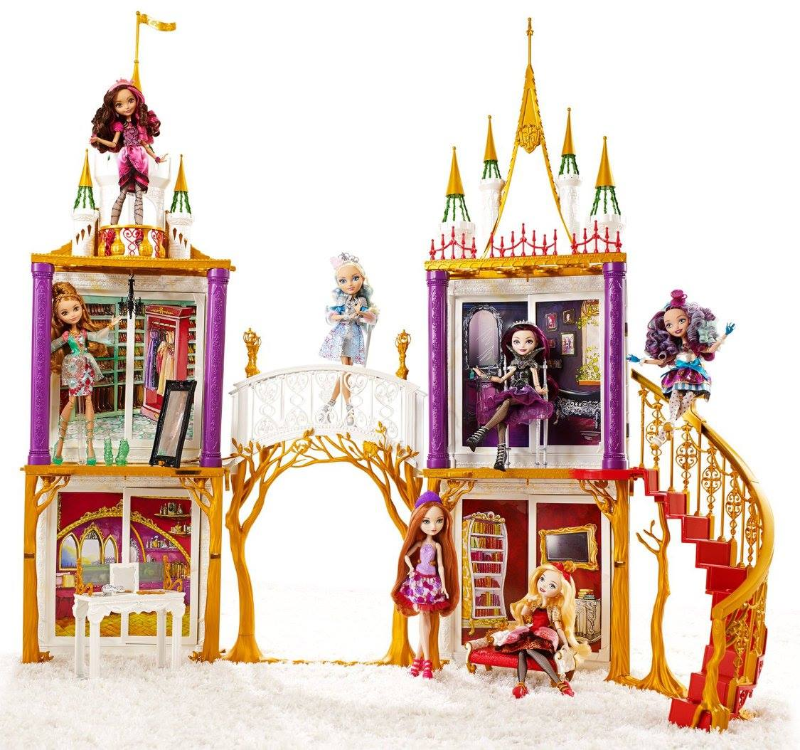 Ever After High Wonder World: Ever After High School Playset!