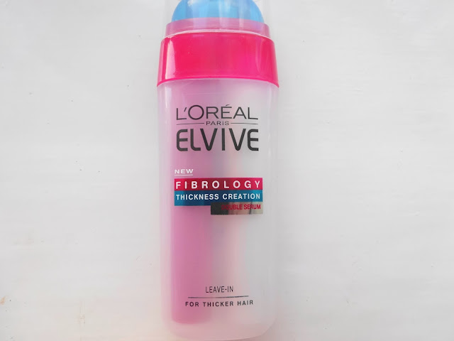 L'Oréal Elvive Fibrology Thickness Creation Double Hair Serum