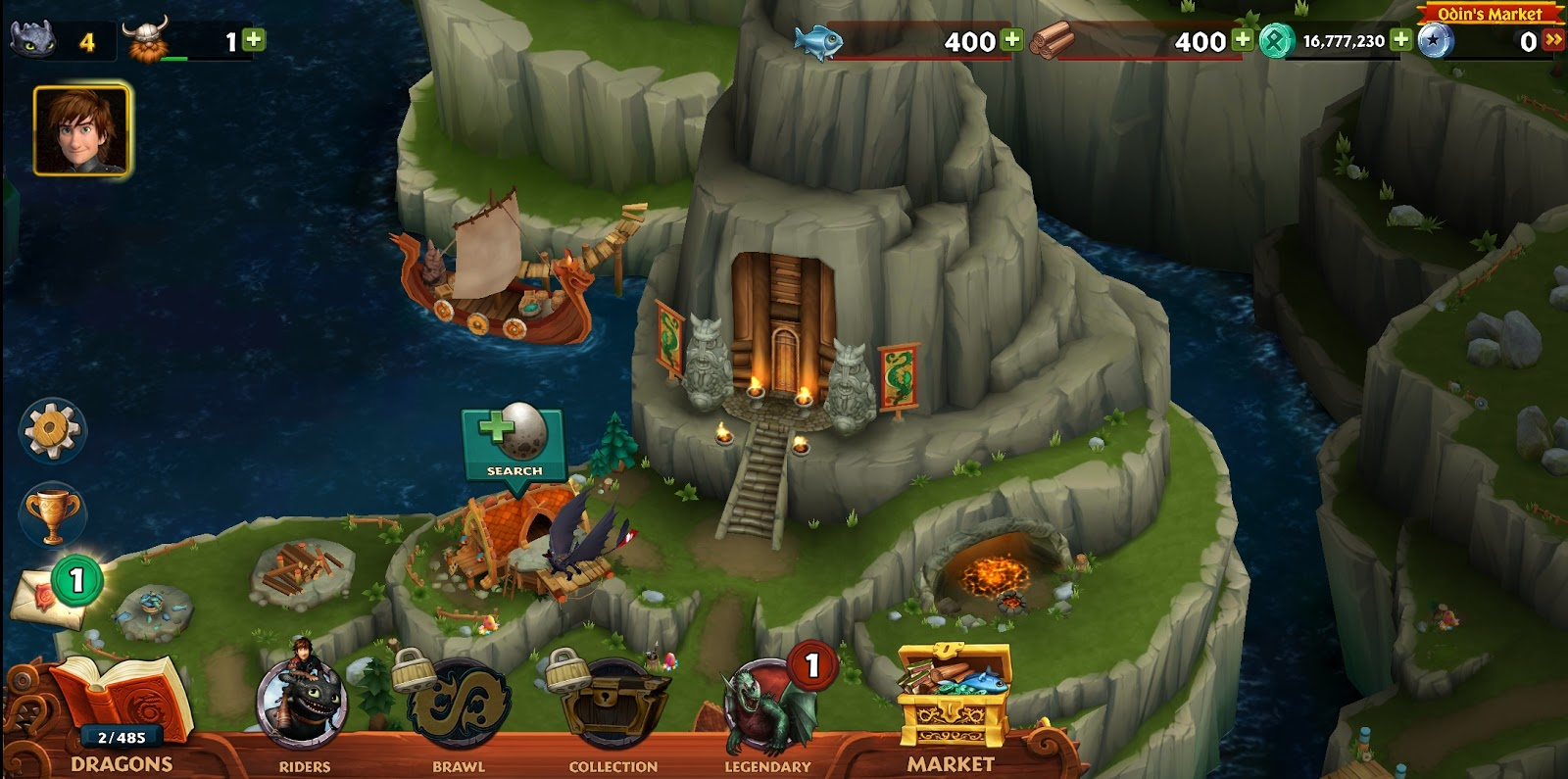 rise of berk hack mod apk download