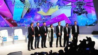 """Los """"unicornios"""" son las empresas de más de mil millones de dólares de valuación bursátil. En la Argentina no son muchas, pero las cuatro que fueron convocadas hoy por el presidente Mauricio Macri en el cierre del Foro de Inversión y Negocios vienen pisando fuerte en la economía."""