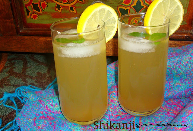 images of Shikanji Recipe / Shikanjvi Recipe  / Indian Lemonade Recipe